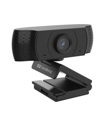 Sandberg 134-16 - Kamera internetowa, USB, 1080p, 360°