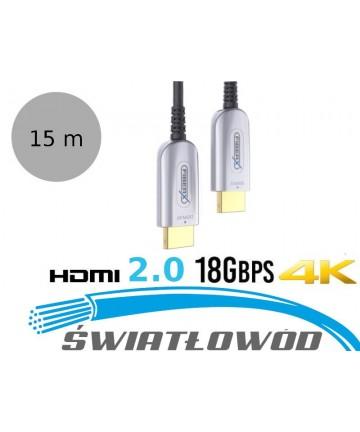 PurLink FXI1350-015 - Światłowodowy kabel HDMI 2.0