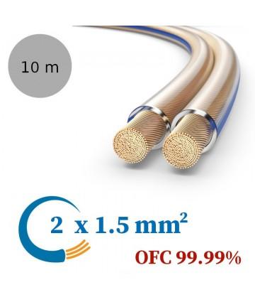 PureLink SESP000-010 - Kabel głośnikowy OFC, 2x1.5 mm²