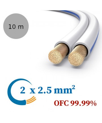 PureLink SESP011-010 - Kabel głośnikowy OFC, 2x2.5 mm²