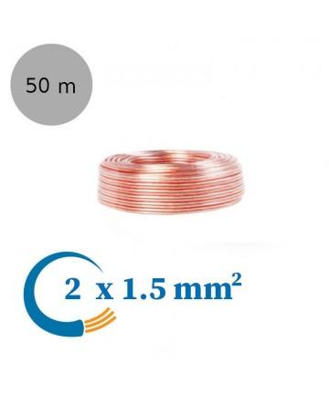 LogiLink CA1085 - Kabel głośnikowy 2x1,5 mm²