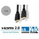 PureLink PI1000-010 - Instalacyjny kabel HDMI 2.0, 18Gb, 4K, 1 metr