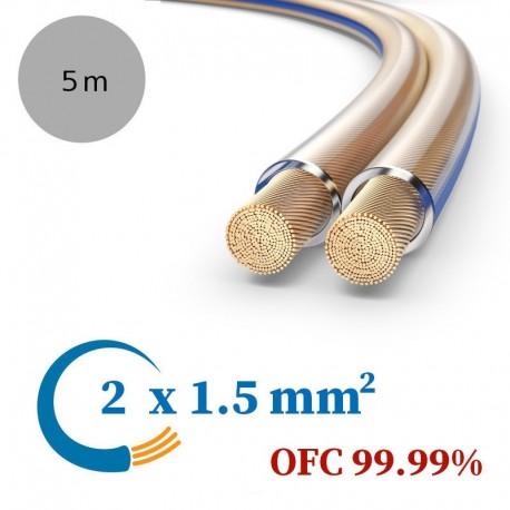 PureLink SESP000-005 - Kabel głośnikowy OFC, 2x1.5 mm²
