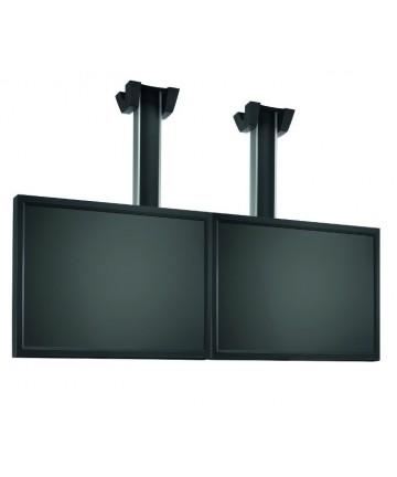 """Vogel's CONNECT-IT LARGE 2x1 - Uchwyt sufitowy na 2 ekrany 26-42"""", max 120 kg. Długość 80-150-300cm"""