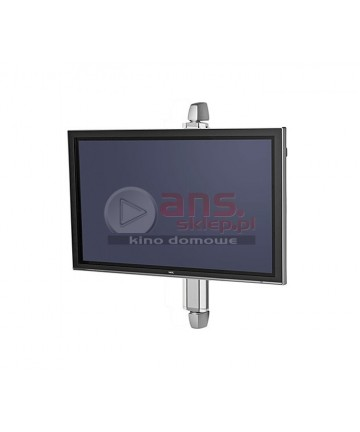 """SMS X WH S605 - Uchwyt ścienny TV 40-55"""", max. 50kg. Montowany na profilu dł. 60cm"""
