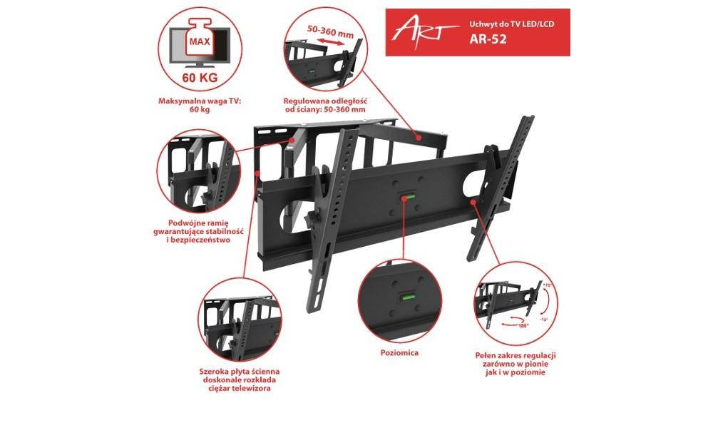 art-ar-52-uchwyt-do-telewizora-30-70-max