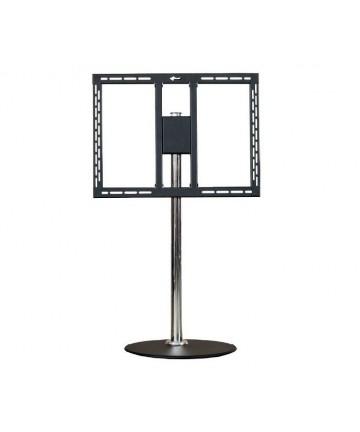 Edbak STD15 - Stojak na telewizor lub monitor 27-40, wys. 120 cm, srebrny
