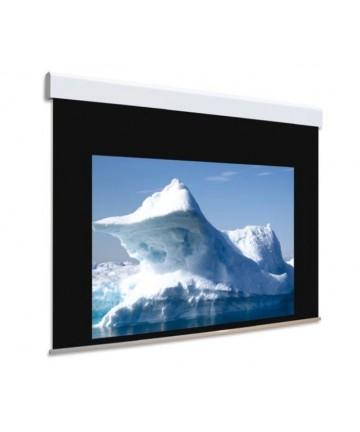 Adeo BIFORMAT - Elektryczny ekran projekcyjny, dwupowierzchniowy