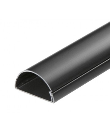 D-Line 5025B - Listwa PCV 50x25mm, maskujca kable na ścinie długości 200 cm, czarna