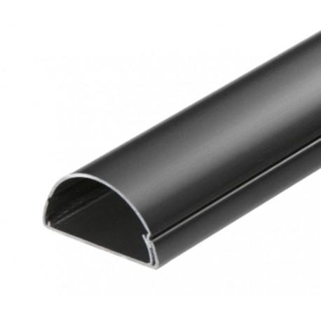 D-Line 5025B - Listwa PCV 50x25 mm, maskująca kable na ścinie, 2 m, czarna