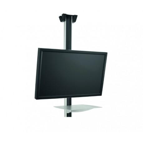 """Vogel's SET C44P - Uchwyt sufitowy do TV 32- 65"""" z półką. max. 80kg. Długość 80, 150 lub 300cm"""
