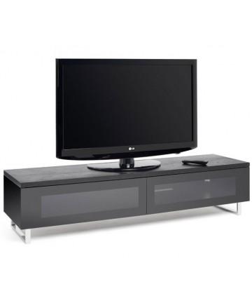 Techlink PM160B - Szafka pod telewizor szerokości 160 cm, czarny
