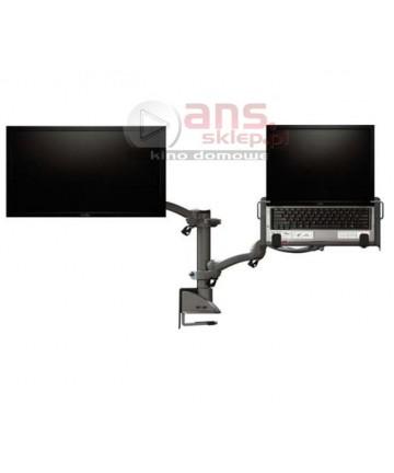 Hafele Ellipta Zest Long S2 Notebook - Uchwyt biurkowy do montażu monitora oraz laptopa