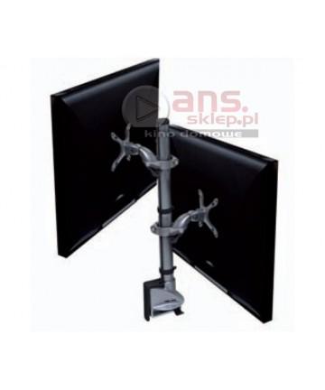 Hafele Ellipta Zest Short 2 - Uchwyt biurkowy na 2 monitory, max. 24'