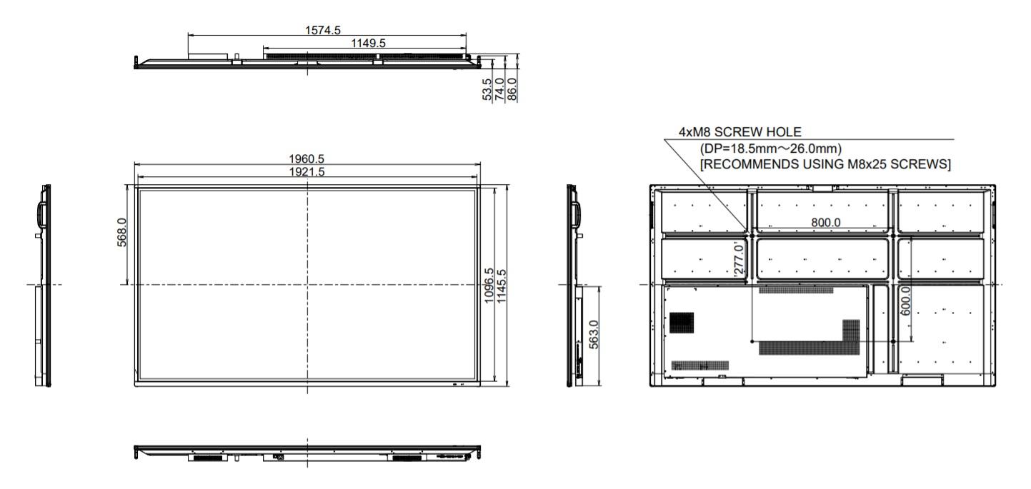 rysunek techniczny TE8603MIS-B1AG