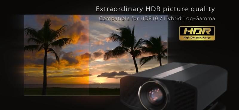 HDR JVC DLA-Z1