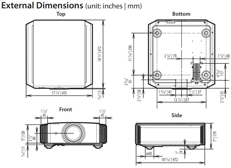 Projektor JVC DLA-RS540
