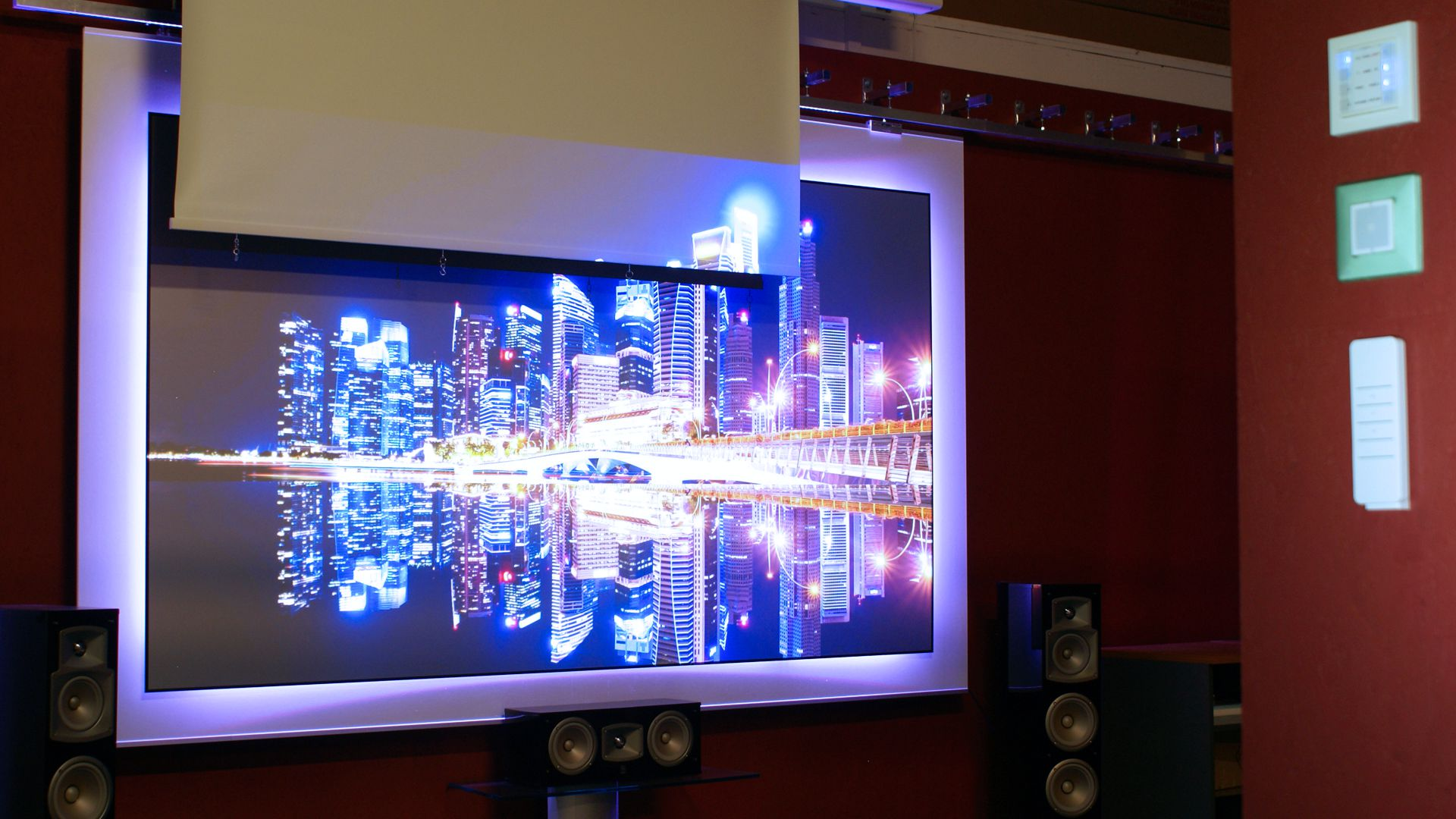 MagicScreen FutureII projekcyjny ekran ALR